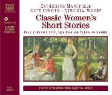 Classic Women's Short Stories (in engl.Spr.), 2 CDs