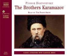 Dostojewskij,Fjodor:The Brothers Karamazov (in engl.Spr.), 8 CDs