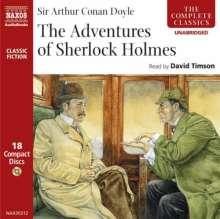 Conan Doyle,Sir Arthur:Sherlock Holmes I-VI (engl.Spr.), 18 CDs