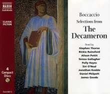 Giovanni Boccaccio: The Decameron, 4 CDs