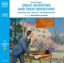Angus,David:Great Inventors and their Inventions, 2 CDs