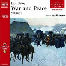 War and Peace, Volume 2, 25 CDs