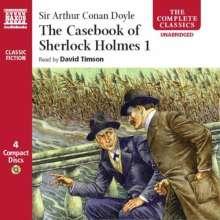 The Casebook Of Sherlock Holmes 1, 4 CDs