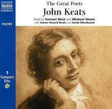 John Keats: Great Poets, CD