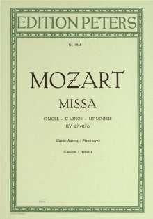 Wolfgang Amadeus Mozart (1756-1791): Missa c-Moll KV 427 (417a) (Wien, Juli 1782 / Mai 1783), Noten