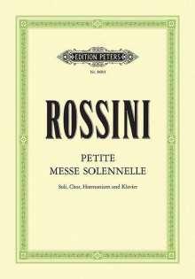 Gioacchino Rossini (1792-1868): Petite Messe solennelle, Noten