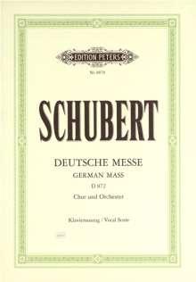 Franz Schubert (1797-1828): Deutsche Messe D 872, Noten