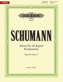 Robert Schumann (1810-1856): Album für die Jugend op. 68 / Kinderszenen op. 15, Noten