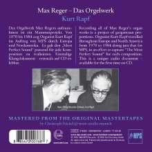 reger - Reger - Oeuvres pour orgue 0885470007687