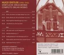 Hugo Distler (1908-1942): Sämtliche Orgelwerke, 2 CDs (Rückseite)