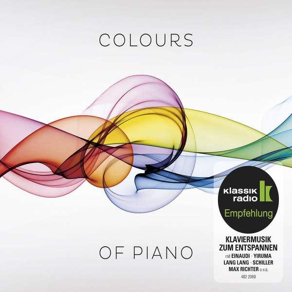 colours of piano 2 cds jpc. Black Bedroom Furniture Sets. Home Design Ideas