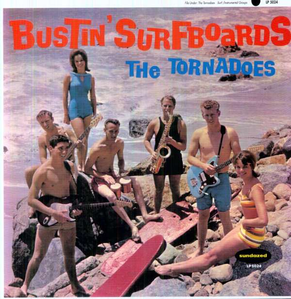 The Tornadoes Bumble Bee Stomp Bustin Surfboards