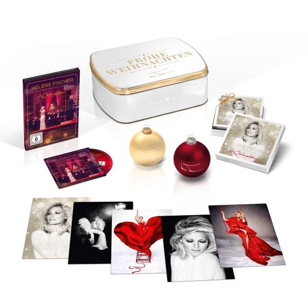 helene fischer weihnachten limited fanbox 2 cds jpc. Black Bedroom Furniture Sets. Home Design Ideas