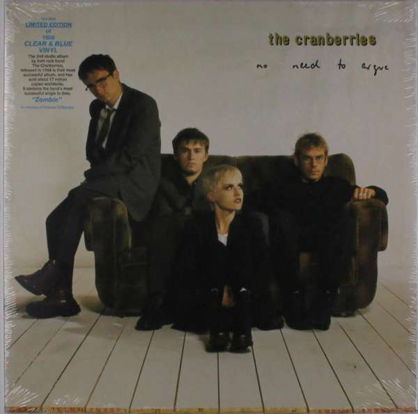 The Cranberries: No Need To Argue (Limited-Edition) (Clear & Blue Vinyl), LP
