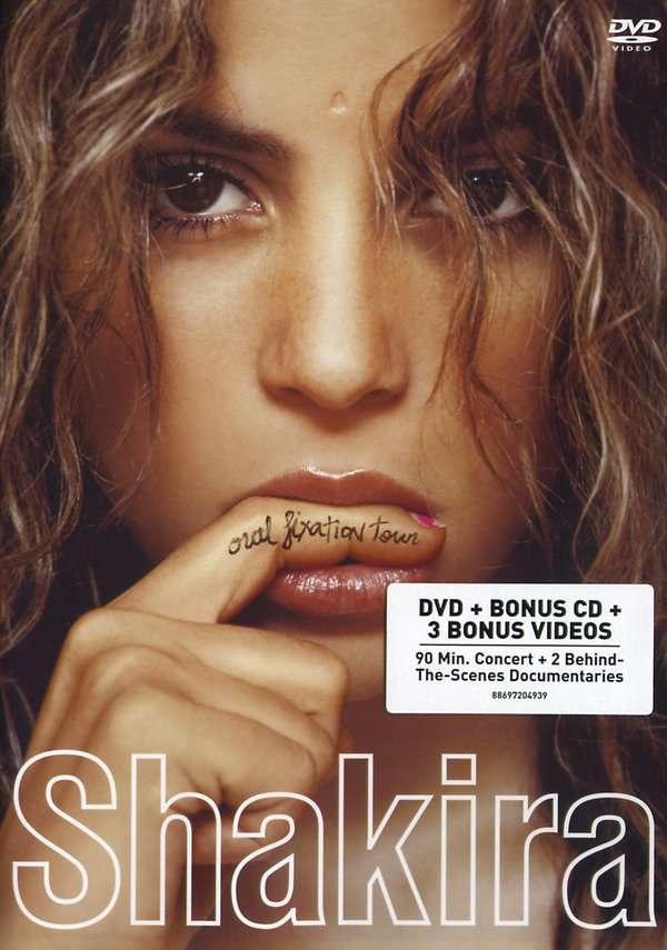 Shakira Oral Fixation Tour Dvd Cd 2 Dvds Jpc