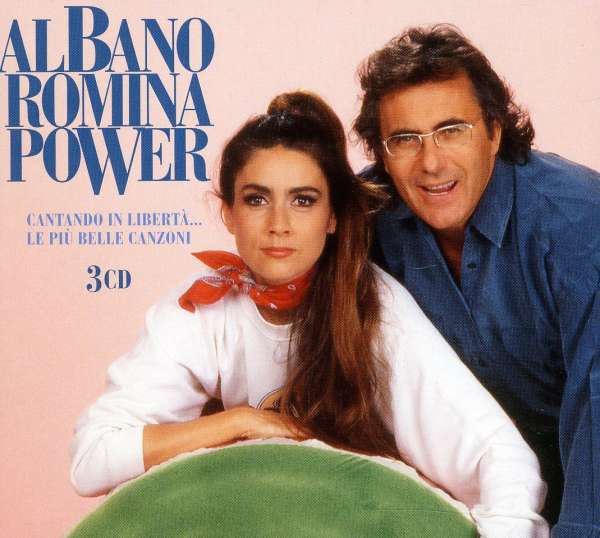 Al bano romina power cantando in liberta 3 cds jpc for Al bano e romina power