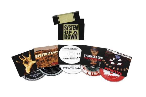 System Of A Down System Of A Down Album Bundle 5 Cds