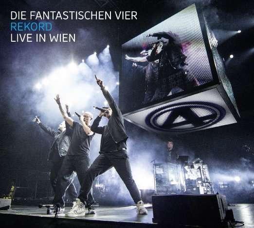 Die Fantastischen Vier: Rekord: Live in Wien 2015 (2 CD + DVD), 2 CDs