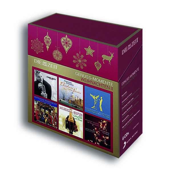 die zeit genuss edition weihnachten vol 2 6 cds jpc. Black Bedroom Furniture Sets. Home Design Ideas