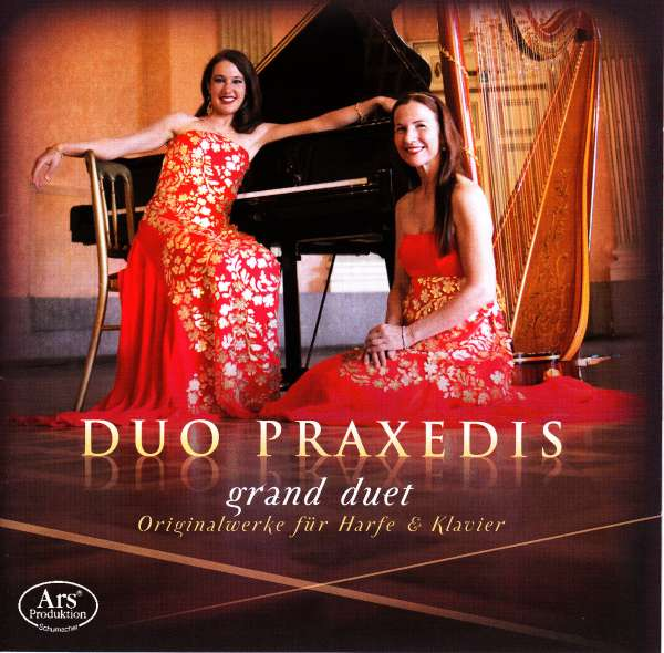 Bildergebnis für duo praxedis harfe und klavier