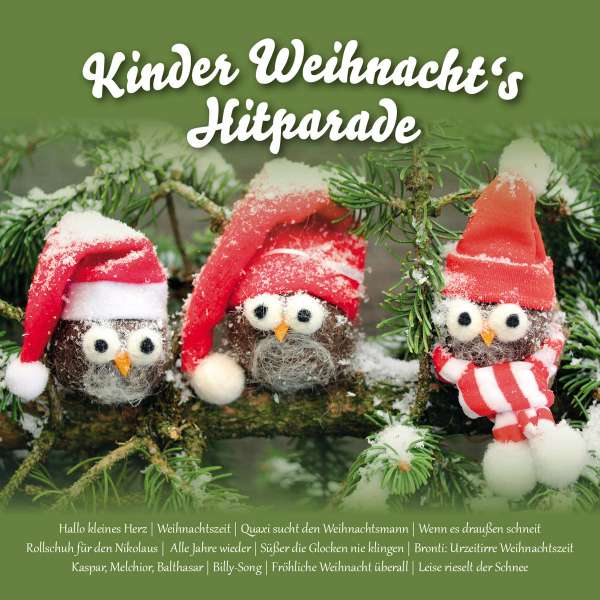 Foyer Des Arts Hitparade : Kinder weihnachts hitparade cd jpc
