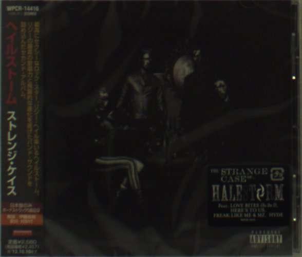 Halestorm The Strange Case Of Bonus Cd Jpc
