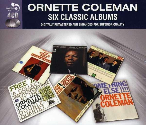 Ornette Coleman Six Classic Albums 4 Cds Jpc