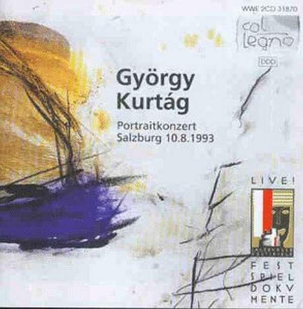 Gy 246 Rgy Kurtag Portraitkonzert Salzburg V 10 08 93 2 Cds