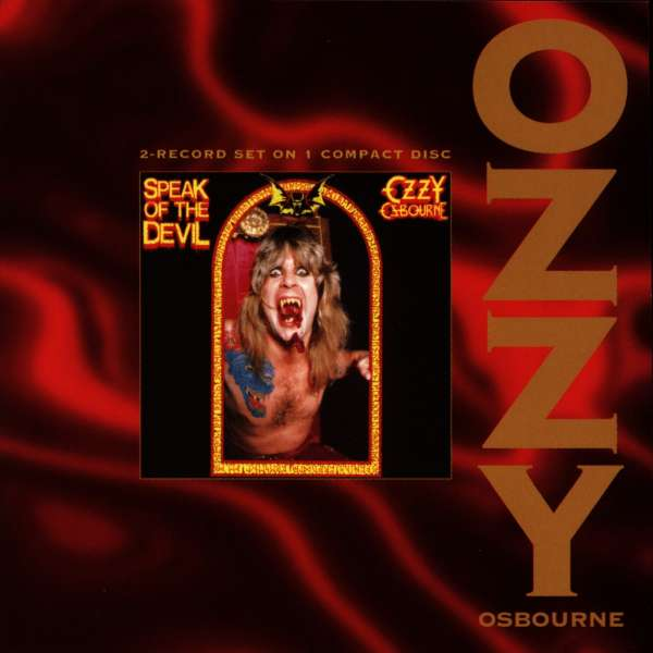 ozzy osbourne speak of the devil cd jpc. Black Bedroom Furniture Sets. Home Design Ideas