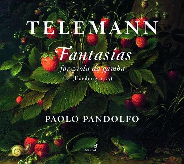 Georg Philipp Telemann (1681-1767): Fantasien für Viola da gamba solo Nr.1-12, 2 CDs