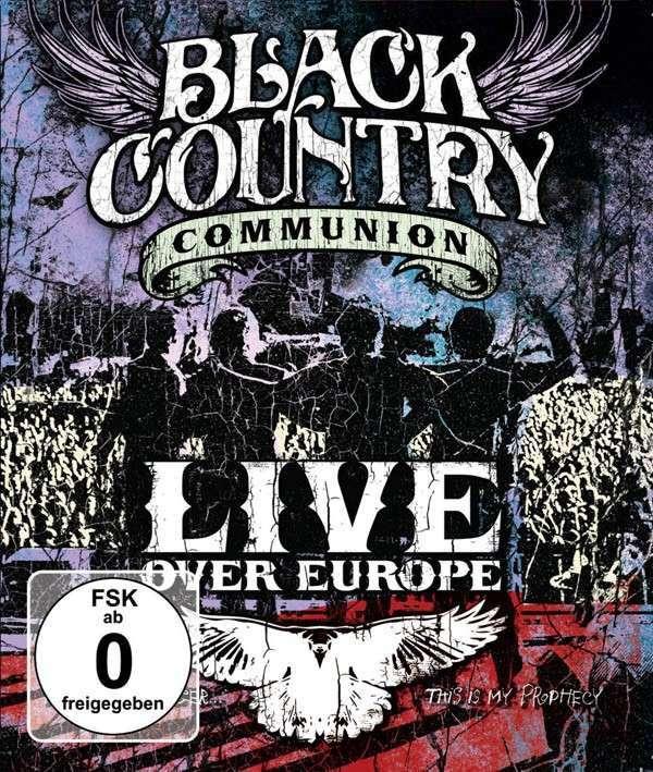 black country communion live over europe 2 dvds jpc. Black Bedroom Furniture Sets. Home Design Ideas