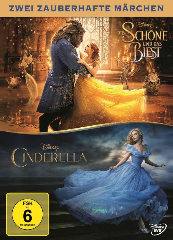 Die Schöne und das Biest (2017) / Cinderella (2015) (2 ...
