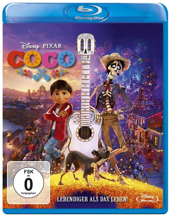 Coco Blu Ray Jpc