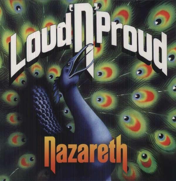 Nazareth Loud N Proud 180g Lp Jpc