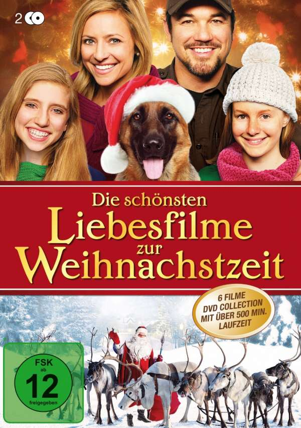die sch nsten liebesfilme zur weihnachtszeit 6 filme auf 2 dvds 2 dvds jpc. Black Bedroom Furniture Sets. Home Design Ideas