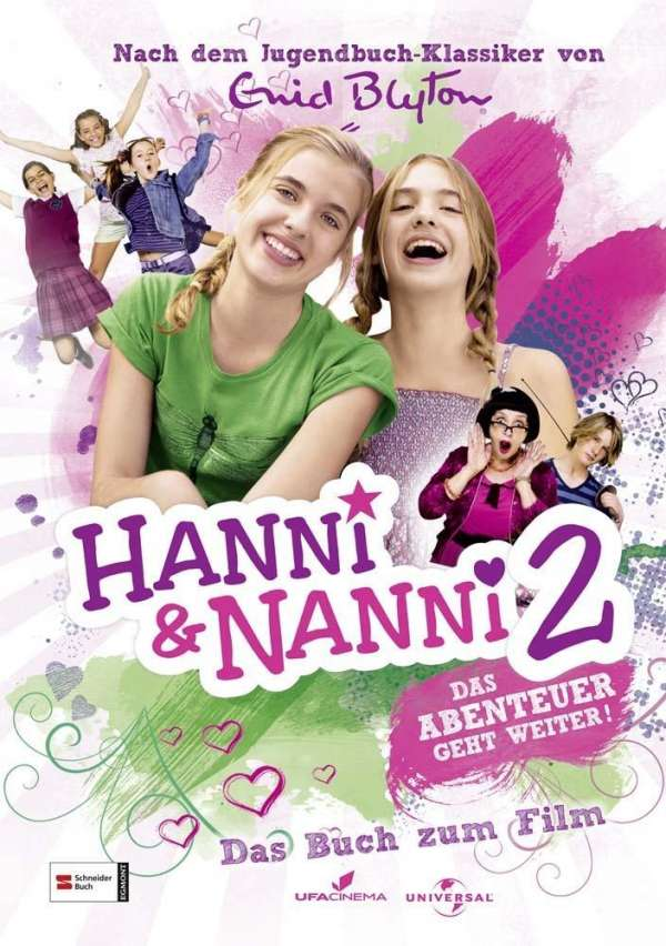 hanni und nanni  das buch zum film2  enid blyton buch