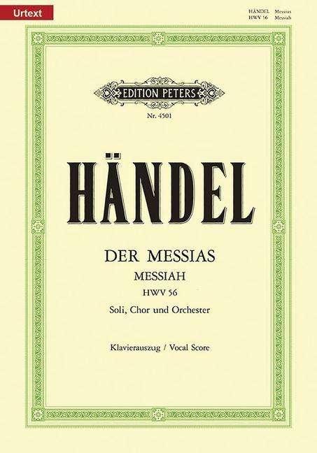 Georg Friedrich Händel: Händel:Der Messias (Klavierauszug ...
