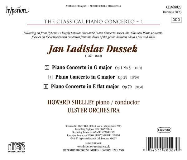Jan Ladislav Dussek (1760-1812) - Page 2 0034571280271