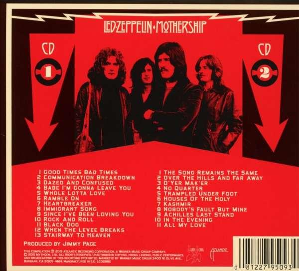 Led Zeppelin Mothership 2015 Reissue 2 Cds Jpc