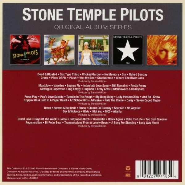 Stone Temple Pilots: Original Album Series (5 CDs) – jpc