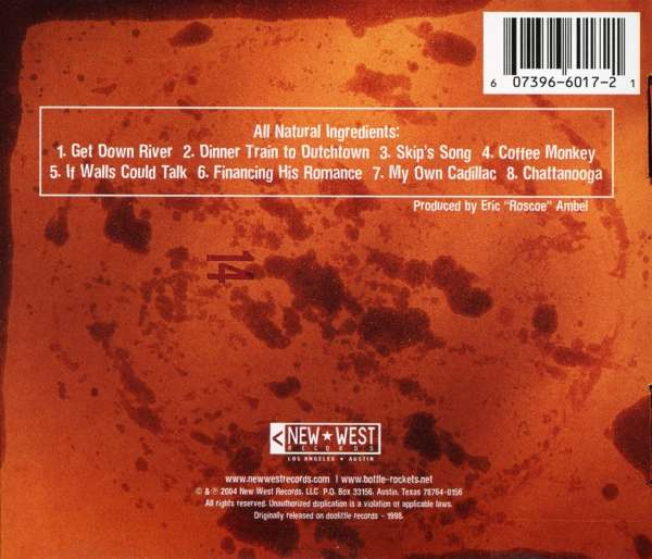 The Bottle Rockets Leftovers Cd Jpc