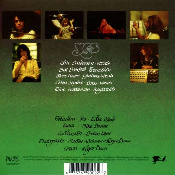 yes close to the edge definitive edition cd bluray