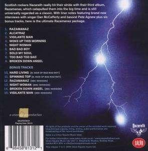 Nazareth Razamanaz Loud Proud Amp Remastered Cd Jpc