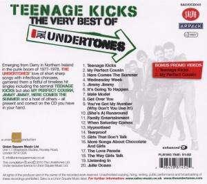 The Undertones Teenage Kicks Very Best Of Cd Jpc