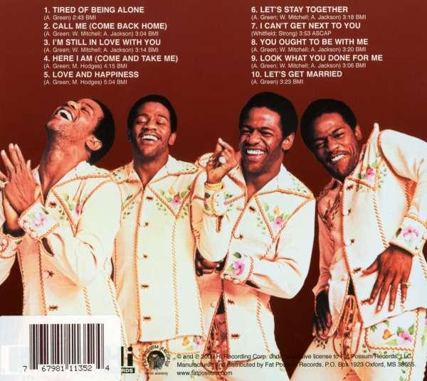 Al Green Greatest Hits Volume II