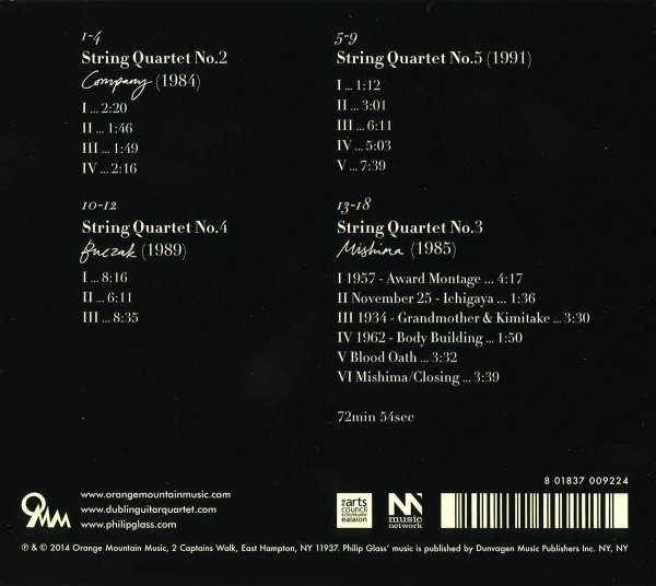 Dublin Guitar Quartet Performs Philip Glass