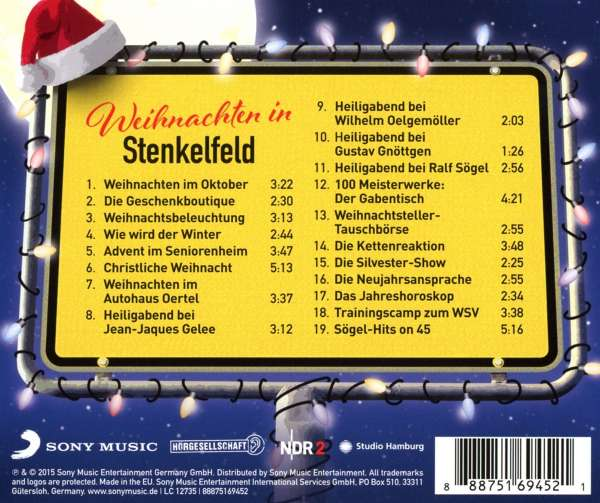 stenkelfeld weihnachten in stenkelfeld cd jpc. Black Bedroom Furniture Sets. Home Design Ideas