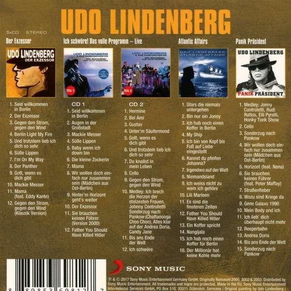 Udo lindenberg single discography Udo lindenberg single durch die schweren zeiten - DR CIUCA