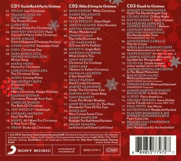 kuschelrock christmas 3 cds jpc. Black Bedroom Furniture Sets. Home Design Ideas