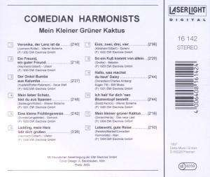 comedian harmonists mein kleiner gr ner kaktus cd jpc. Black Bedroom Furniture Sets. Home Design Ideas